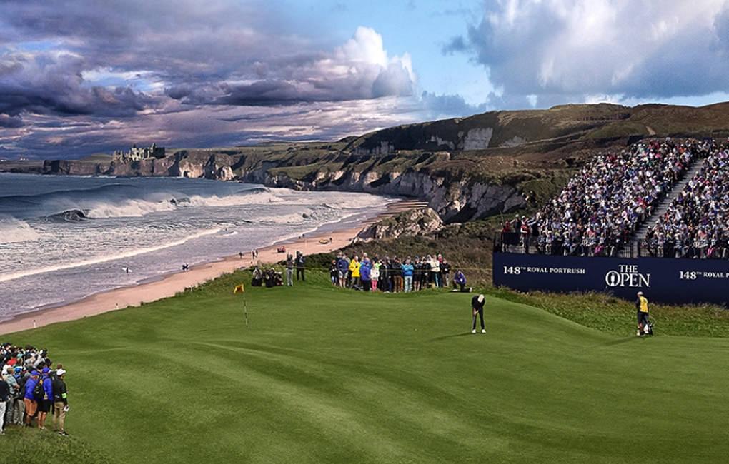 Open Golf Royal Portrush – Thursday 18th July 2019 - 4 Places