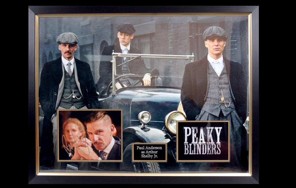Peaky Blinders Signed Display