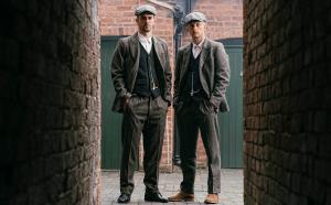 Garrison Tailors' bespoke 'Peaky Blinder' suit